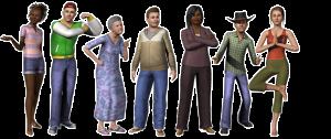 Sims mais detalhados no novo jogo