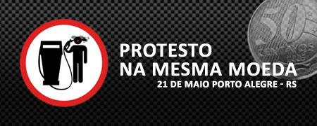 PROTESTO NA MESMA MOEDA Porto Alegre